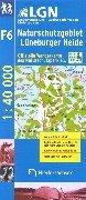 9783894356170: Naturschutzgebiet Lüneburger Heide 1 : 40 000. Freizeitkarte.
