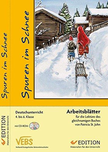 9783894366742: Spuren im Schnee