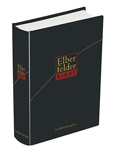 9783894367145: Elberfelder Bibel 2006 - Standardausgabe Skivertex schwarz