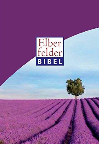 Elberfelder Bibel 2006 Standardausgabe Motiv Lavendelfeld