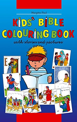 Kinder-Mal-Bibel englisch: Paul, Margitta
