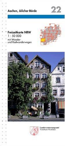 9783894394929: Aachen, Jülicher Börde 1 : 50 000