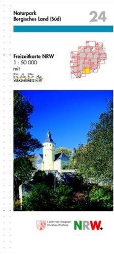 9783894394943: Naturpark Bergisches Land (S�d) 1 : 50 000
