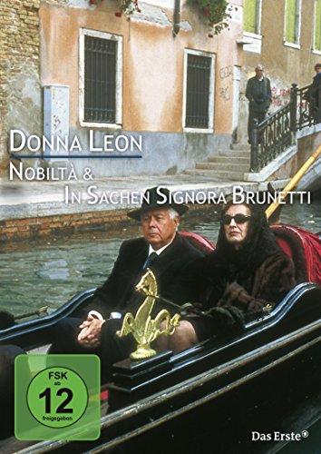 9783894402532: Donna Leon - Nobiltà / In Sachen Signora Brunetti [Import anglais]