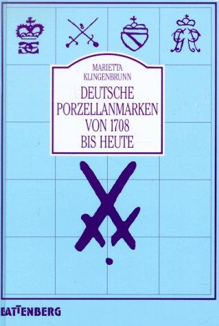 Deutsche Porzellanmarken von 1708 bis heute: Klingenbrunn, Marietta