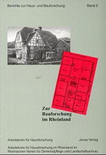 Zur Bauforschung im Rheinland (Paperback)