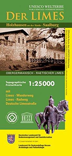 Limes in Hessen 1 : 25 000. Topographische Freizeitkarte LMS