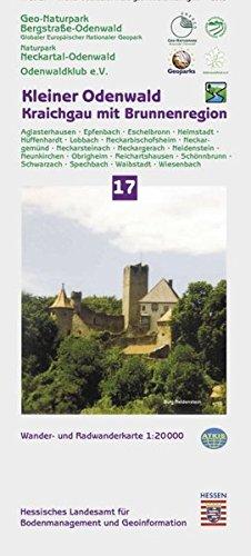 Kleiner Odenwald / Kraichgau mit Brunnenregion 1 : 20 000