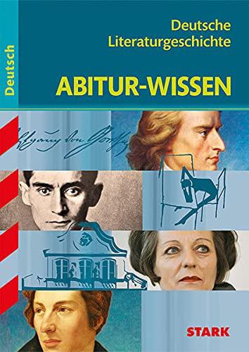 9783894491475: Abitur-Wissen Deutsch. Deutsche Literaturgeschichte.