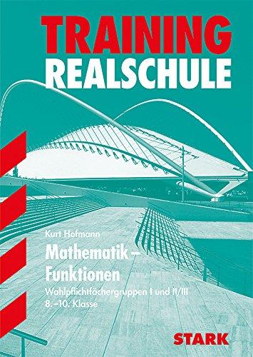 9783894492793 Realschule Training Grundwissen Mathematik Funktionen 8 10