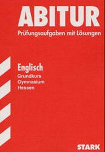 9783894492991: Abitur-Prüfungen Englisch - gk Gymnasium Hessen