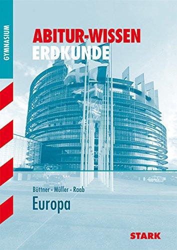 9783894495480: Abitur-Wissen Erdkunde. Europa