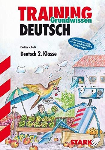 9783894496784: Training Grundwissen Deutsch. 2. Klasse