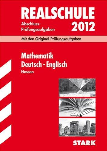 Mathe abschlussprüfung realschule hessen
