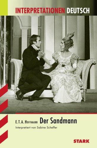 9783894497811: Der Sandmann. Interpretationshilfe Deutsch
