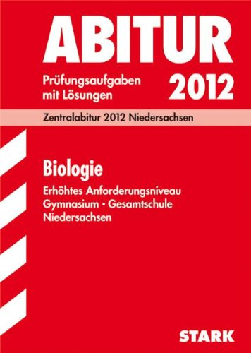 9783894498351: Abitur Biologie. Niedersachsen