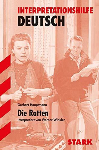 9783894499709: Die Ratten. Interpretationshilfe Deutsch