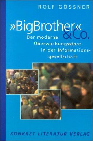 9783894581954: ' Big Brother' und Co.