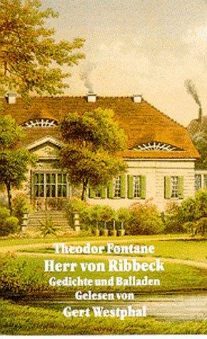 9783894690885: Literatur - Herr Von Ribbeck: Gedichte und Balladen (Theodor Fontane) [Musikkassette]