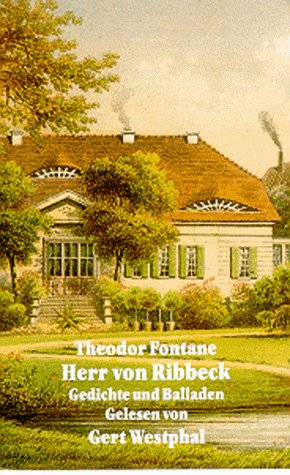 9783894690885: Herr von Ribbeck. Gedichte und Balladen
