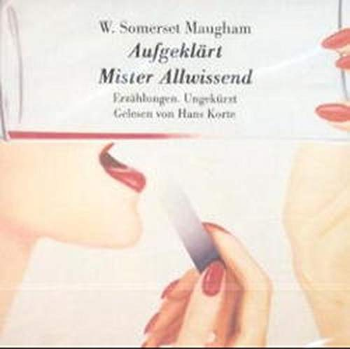 Aufgeklärt - Mister Allwissend [Audiobook] (3894695390) by W. Somerset Maugham; William Somerset Maugham
