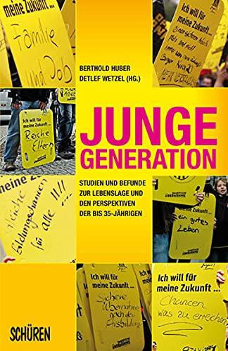 9783894722265: Junge Generation