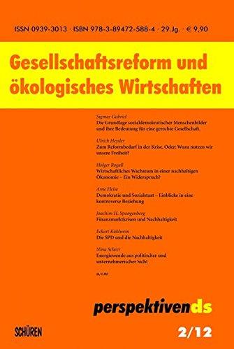 9783894725884: Gesellschaftsreform und ökologisches Wirtschaften