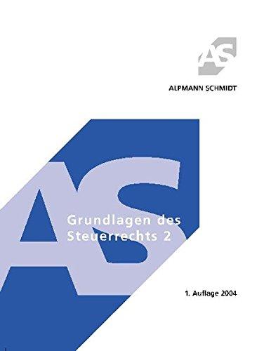 9783894767488: Grundlagen des Steuerrechts 2.