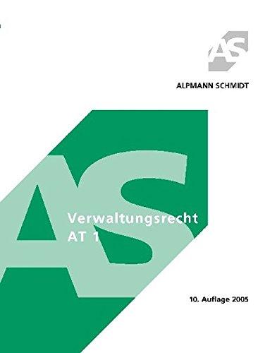 9783894767815: Verwaltungsrecht AT 1