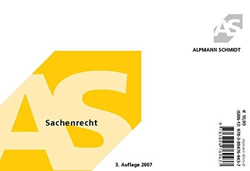 9783894769437: Sachenrecht - Karteikarten