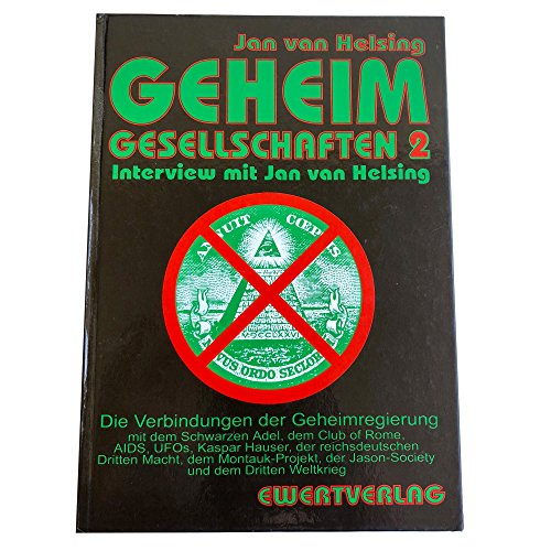 9783894784928: Geheimgesellschaften 2. Interview mit Jan van Helsing