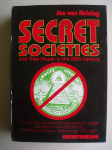 9783894786540: Secret Societies and Their Power in the 20th Century