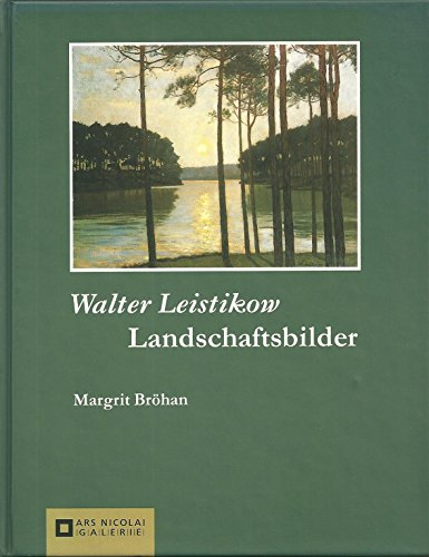 9783894790561: Landschaftsbilder. Margrit Bröhan / Ars-Nicolai-Galerie