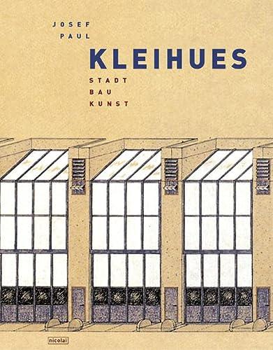 9783894790899: Josef Paul Kleihues.: Stadt. Bau. Kunst.