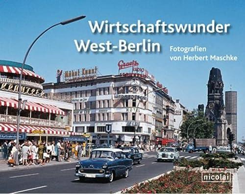 9783894797652: Wirtschaftswunder West-Berlin