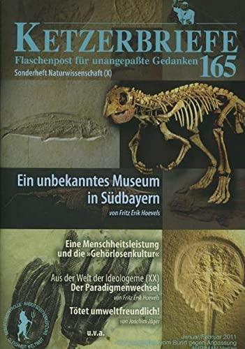 Ein unbekanntes Museum in Südbayern. Eine Menschheitsleistung: Hoevels, Fritz Erik/