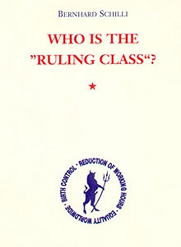 9783894848088: Who is the 'Ruling Class'