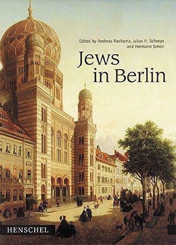 Jews in Berlin.: Nachama, Andreas (ed.).