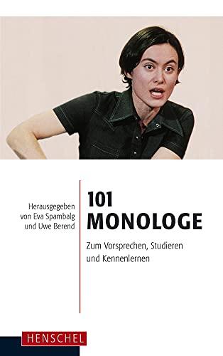 Monologe Vorsprechen