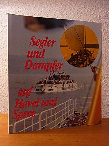 Segler und Dampfer auf Havel und Spree.: Rook, Hans -