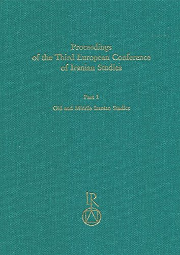 9783895000706: Proceedings of the Third European Conference of Iranian Studies: Held in Cambridge, 11th to 15th September 1995. Old and Middle Iranian Studies (Beitrage Zur Iranistik)