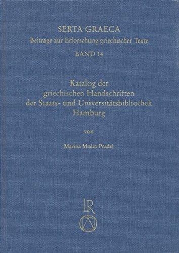Katalog Der Griechischen Handschriften Der Staats- Und: Molin Pradel, Marina