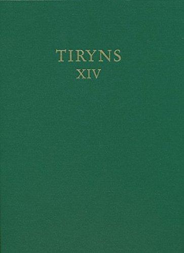 Studien zur spätmykenischen Keramik (TIRYNS) (German Edition): Christian Podzuweit