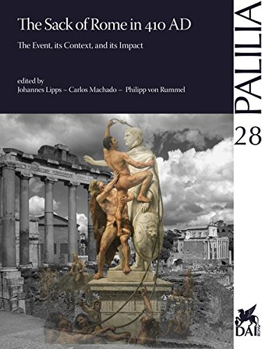 9783895009440: 410 - The Sack of Rome: The Event, its Context and its Impact (Palilia) (Italian Edition)