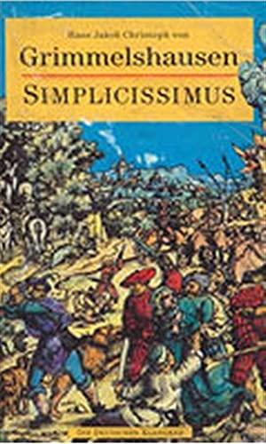 Der abenteuerliche Simplicissimus Teutsch. Mit einer Einleitung: Grimmelshausen, Hans Jakob