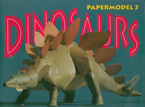 9783895080029: Dinosaurs Papermodel 3 Stegosaurus