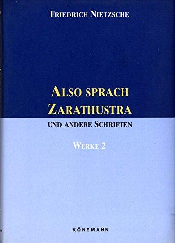 Also Sprach Zarathustra (German Edition): Nietzsche, Friedrich Wilhelm