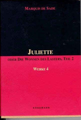 9783895080920: Sade: Juliette Tiel 2 Werke 4