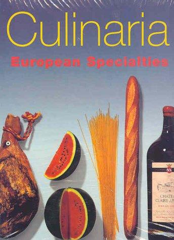 9783895082344: Culinaria: European Specialties (Two volumes)