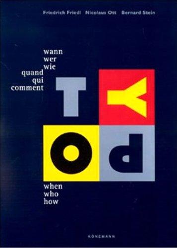 When who how Typography / Wann wer: Friedl, Friedrich; Ott,